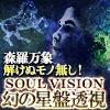 【極限的中】森羅万象解けぬモノ無し!◆SOUL VISION◆幻の星盤透視